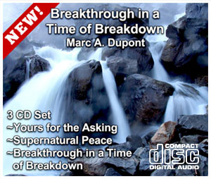 CD series - Breakthrough in a Time of Breakdown