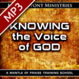 Knowing the Voice of God Training School (live recording) MP3 Download (6 files)